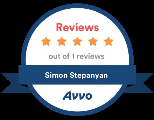 Avvo five star badge
